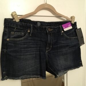 Mossimo Mid-Rise Denim Cutoff Shorts